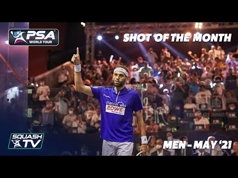 Squash: Shot of the Month - May 2021 - Men
