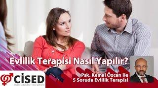 CİSED Genel Sekreteri Psk. Kemal Özcan ile 5 Soruda Evlilik Terapisi4. Bölüm: Evlilik Terapisi Nasıl Yapılır?http://www.cised.org.tr