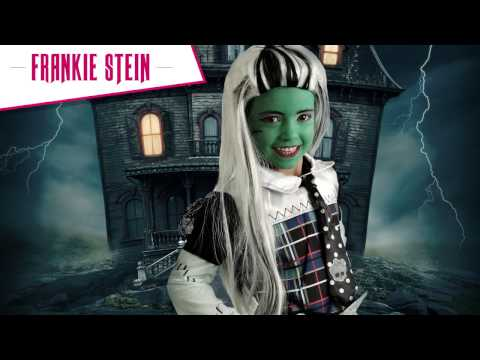 Maquillaje de Frankie Stein - Monster High