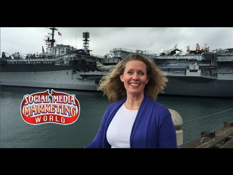 Social Media Marketing World Opening Night Networking Party on the USS Midway