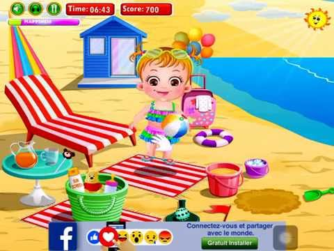 Game baby hazel beach Holiday
