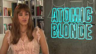Atomic Blonde: Sofia Boutella Official Movie InterviewSUBSCRIBE: http://goo.gl/mHkEX9 FOLLOW US: http://goo.gl/7SoFjWLIKE US: http://goo.gl/6srxoUCheck out Movie Behind the Scenes, Interviews, Movie Red Carpet Premieres, Broll and more from ScreenSlam.comPart of the Maker Studios