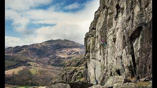 Neil Gresham climbing Burnt Crag - Lake District by La Sportiva