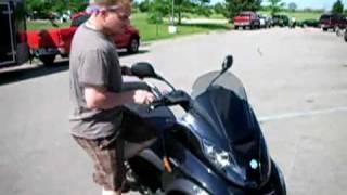 10. 2008 Piaggio MP3 scooter Review Piaggio