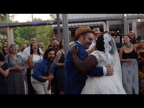 Jake and Melody Wedding (видео)
