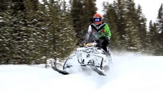 9. 2013 Arctic Cat XF1100 Turbo CrossTour Snowmobile Review