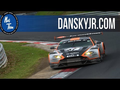 Exclusive Nürburgring onboard video with Aston Martin - Nicki Thiim! (видео)
