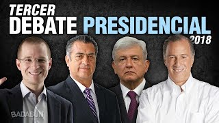 Video Tercer debate presidencial en vivo MP3, 3GP, MP4, WEBM, AVI, FLV Agustus 2018