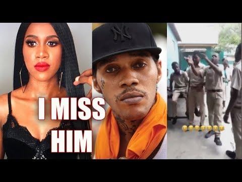 Vanessa Bling MISS Vybz Kartel, Popcaan And The Gaza | Student Them TUFF