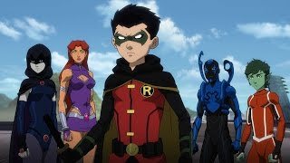 Nonton Justice League Vs  Teen Titans   Official Trailer Film Subtitle Indonesia Streaming Movie Download