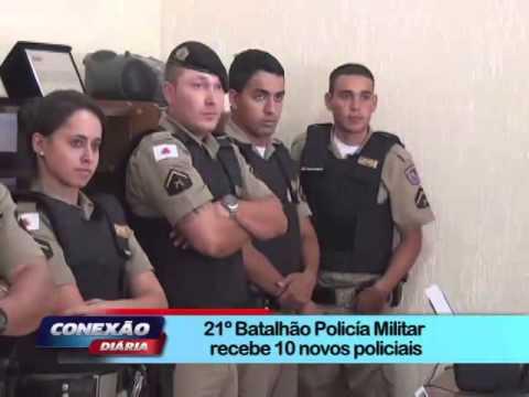 Apresentação dos novos PMs em Ubá