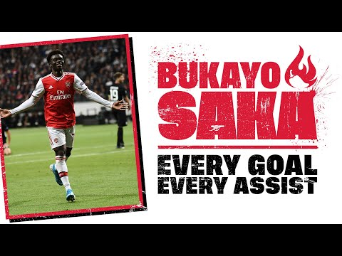 🔥 The best of Bukayo Saka | Every Goal and Assist so far