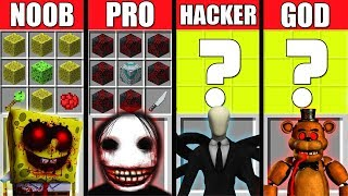 Video Minecraft Battle: NOOB vs PRO vs HACKER vs GOD: HORROR GAME CRAFTING CHALLENGE ~ Animation MP3, 3GP, MP4, WEBM, AVI, FLV Juni 2019