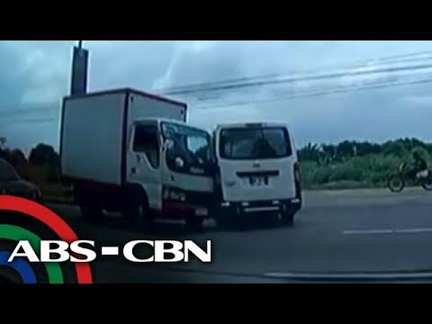 TV Patrol: 2 insidente ng banggaan sa Las Piñas, sapul sa cctv