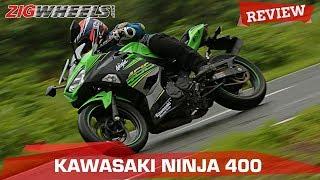 9. Kawasaki Ninja 400 Review   Is this the Best Baby Ninja?   ZigWheels.com