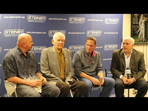 don larsen - During a Q&A with Brandon Steiner and fellow Yankees Perfect Game Pitchers Don Larsen and David Cone, Don Larsen details the events leading up to and during ...