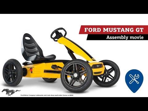 BERG Ford Mustang GT Pedal Go-cart | BERG Gocarts