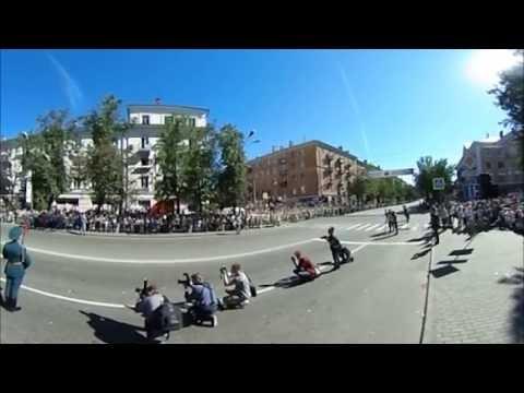 ВЛуки.ру: Праздничный парад на 850-летие города 360°