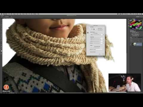 การใช้งาน Focus Area Selection : Photoshop CC 2014
