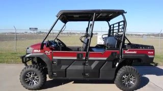 2. $15,899:  2016 Kawasaki Mule Pro FXT EPS LE Dark Royal Red Overview and Review