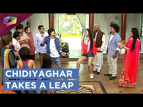 Sab Tv's Show Chidiyaghar Takes A Leap