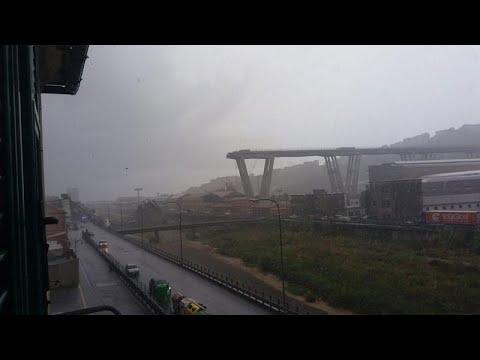 Ιταλία: Δεκάδες νεκροί από την κατάρρευση γέφυρας έξω από τη Γένοβα (ιατρικές υπηρεσίες)…
