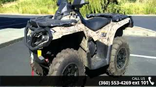 10. 2014 Can-Am Outlander XT 500 Camo  - Lifestyles Honda - M...