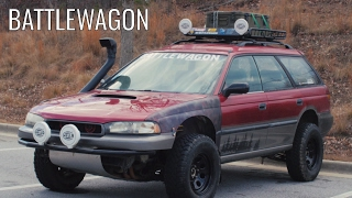 The BATTLEWAGON - Subaru Outback Car Review! by That Dude in Blue