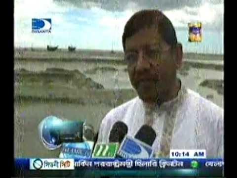 Hamidur Rahman Azad MP bonnay durgoto manusar pasay
