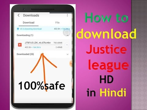 How To Download Justice League Full 720pHd Movie|Dual Audio Hindi