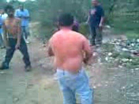 Pelea de mexicanos borrachos