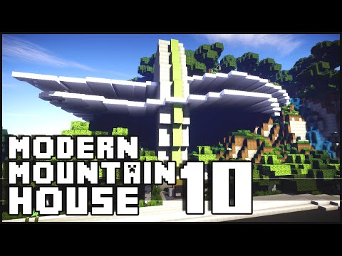 Modern - Minecraft - Modern Mountain House 10 The Minecraft Inspiration Series! Give it a LIKE if you did enjoy. Don't forget to subscribe ▻ http://goo.gl/yCQnEn Shaders for 1.7.2 Tutorial - http://goo....