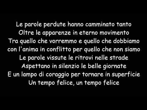 , title : 'Le Parole Perdute - Fiorella Mannoia (Testo)'
