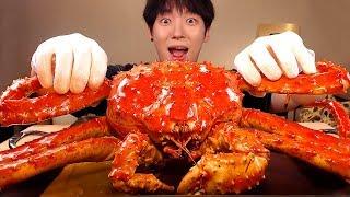 MUKBANG🦀킹크랩 중 제일 맛있다는 레드킹크랩 먹방! 레전드 帝王蟹 キンクレプ KING CRAB EATING SOUNDS[SIO ASMR 시오]