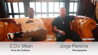 MC Sessions - E.D.I. Mean (The Outlawz) & Jorge Peniche (All $ In)