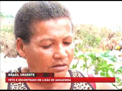 [BRASIL URGENTE PE] Feto é encontrado no lixão de Aguazinha