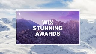 Wix Stunning Awards 開催!!