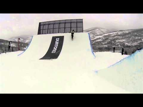 US Snowboarding Open - http://www.worldsnowboardtour.com/ Torstein Horgmo takes us on a GoPro run through the Burton US Open course at Vail, Colorado. Burton is rolling out five ho...