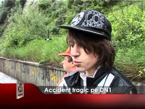 Accident tragic pe DN1