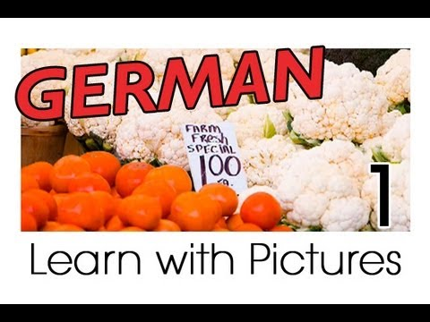 Learn German – German Vegetable Vocabulary