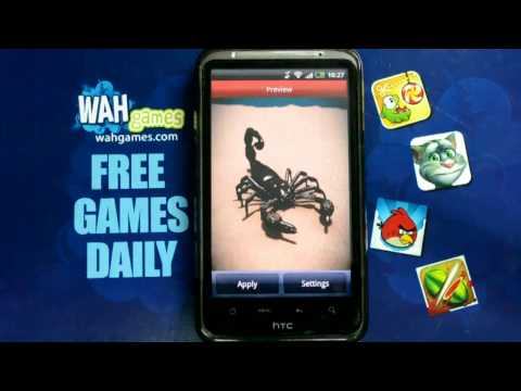 Video of Scorpion Free live wallpaper