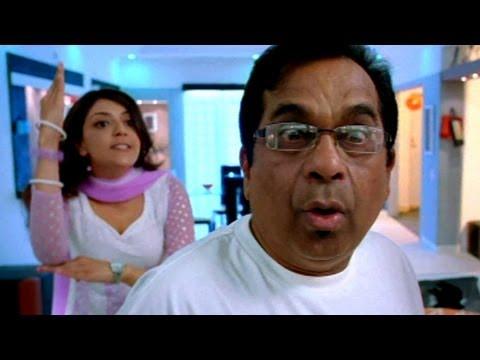 Geetha in Aarya's flat..Brahmanandam comedy