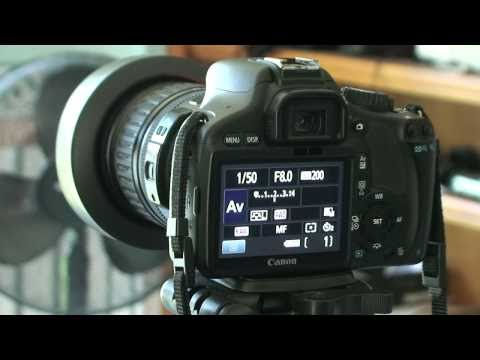 Canon T2i 550D HDR Tutorial Using PhotoMatix 4.0Beta