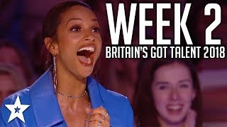 Video Britain's Got Talent 2018 | WEEK 2 | Auditions | Got Talent Global MP3, 3GP, MP4, WEBM, AVI, FLV Januari 2019