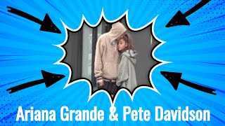 (Exclusive) Ariana Grande Takes a Long Walk with Pete Davidson in NYC 091718