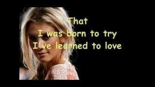 Delta Goodrem - Born to try (lyrics)