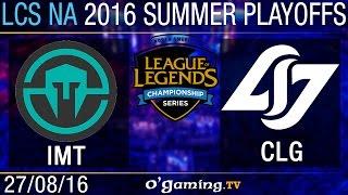 Petite finale - LCS NA Summer Split 2016 - Playoffs