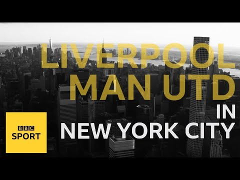 Watching Liverpool V Man Utd In NYC | BBC Sport
