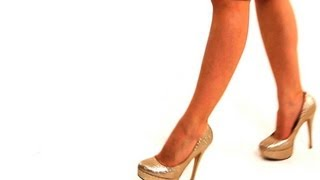 How To Walk In Stilettos | High Heel Walking