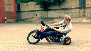 Motorised Drift Trike = FUN